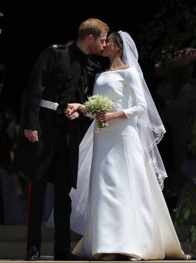 Semnificatia secreta a voalului pe care l-a purtat Meghan Markle, proaspata sotie a printului Harry