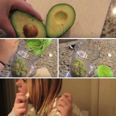 VIDEO! A taiat un avocado si l-a pus pe par! Ce i s-a intamplat dupa 30 de minute!