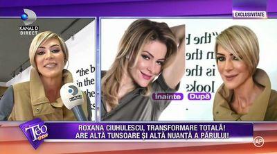 Schimbare radicala de look pentru Roxana Ciuhulescu! Cum arata acum vedeta!