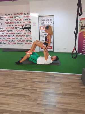 Cele mai sexy exercitii la sala de fitness, din ISTORIE! Cum se antreneaza o vedeta alaturi de iubitul ei / Video EXCLUSIV