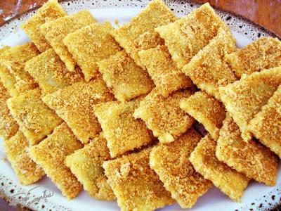 Reteta de post: Coltunasi cu magiun din 5 ingrediente! Cel mai usor desert de post!