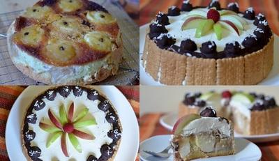 Genial si delicios! Tort cu mere intregi caramelizate