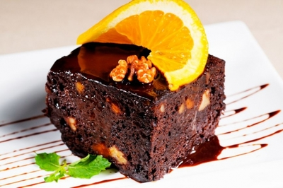 Desert cu aroma de Sarbatori: Prajitura cu portocale, scortisoara si ghimbir