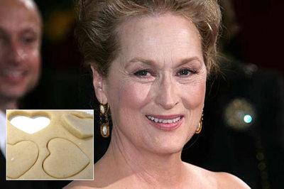 Incearca de Craciun reteta lui Meryl Streep: fursecuri inimioara