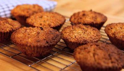 VIDEO! Cum sa faci briose pentru micul dejun care nu ingrasa deloc