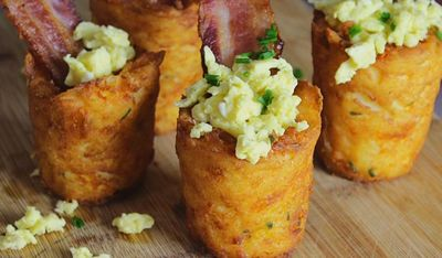 VIDEO! Asa se fac cei mai gustosi cartofi pentru micul dejun! Nu ai mai mancat asa ceva!