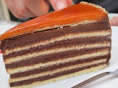 Cel mai gustos tort Dobos! Incearca reteta asta!