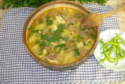Cum se prepara cea mai buna supa de galuste cu pipote?