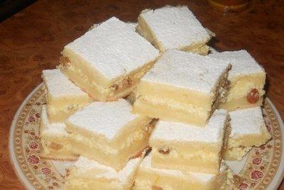 Prajitura cu crema de branza - reteta din caietul bunicii