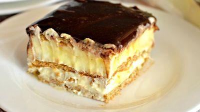 "Prajitura ""Eclerito"": un desert fara coacere, gata in 10 minute"