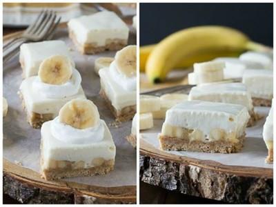 """Prajitura """"Banana split""""! Gata in 15 minute, fara COACERE"""