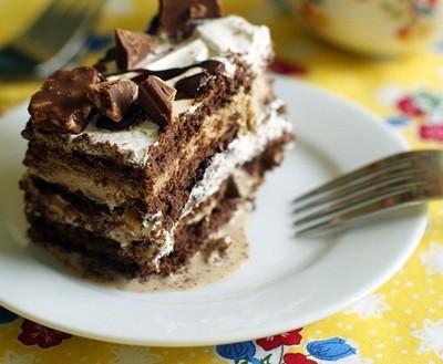 """Prajitura """"Cafetina"""" - cea mai simpla prajitura cu crema de cafea!"""