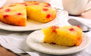 Tort de ananas din 5 ingrediente - reteta simpla!