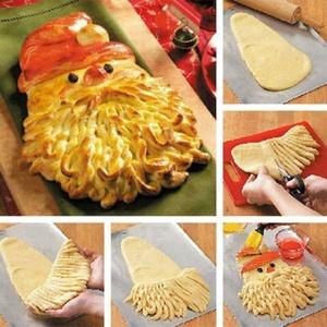 """Cum sa faci paine """"Mos Craciun"""" pentru masa de Sarbatori"""