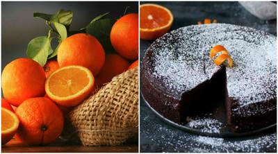 Prajitura fara faina cu portocale si ciocolata