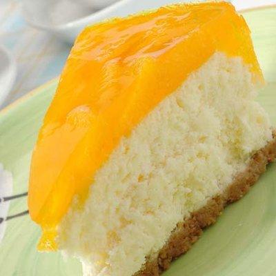 Prajitura Fanta, cu suc natural de portocale - Un deliciu cu crema de branza