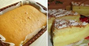 Aceasta este prajitura care se face singura - Un dulce rapid si foarte gustos