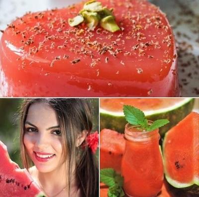 Foarte tare! Cum faci budinca de pepene rosu. Sigur nu stiai ca este posibil!