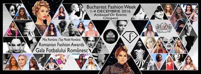 Bucharest Fashion Week se desfasoara in perioada 1-4 decembrie