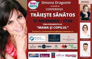 """Simona Dragomir: """"Invatam mamele sa aiba grija de ele si de copiii lor"""""""