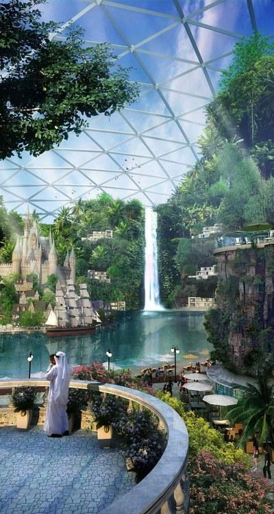 Asa va arata cel mai mare mall de pe planeta! Uite care sunt planurile pentru constructia grandioasa din Dubai
