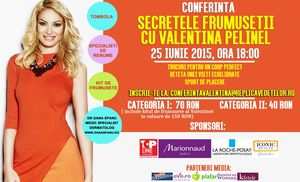 Valentina Pelinel te invita sa-i descoperi secretele frumusetii alaturi de specialisti in domeniu!