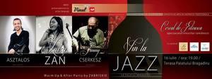 Recomandare Kfetele.ro: Te asteptam la o seara magica de vin la jazz!