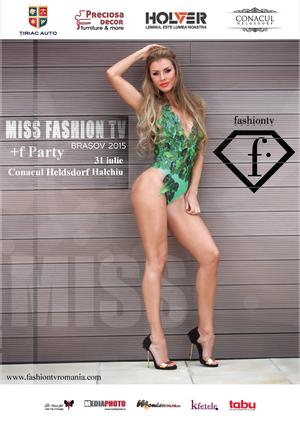 Miss FashionTV Brasov – 31 iulie 2015, Conacul Heldsdorf
