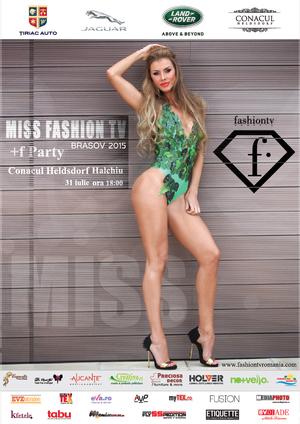 Tudor Turcu si Gabriel Toncean decid cine va fi castigatoarea Miss FashionTV Brasov 2015!