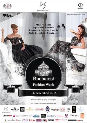 Te asteptam la Bucharest Fashion Week! Iata ce surprize te asteapta!