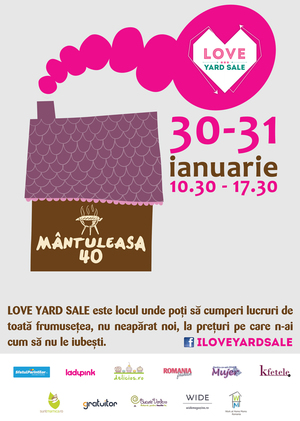 Recomandare Kfetele.ro: LOVE Yard Sale