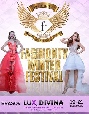 Claudia Neghina si Ioana Francia, divele de la FashionTv Winter Festival!