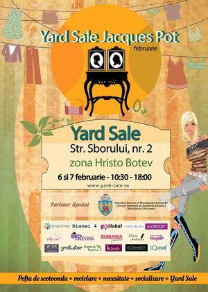 Recomandare Kfetele.ro: Yard Sale de Februarie @ Jacques Pot