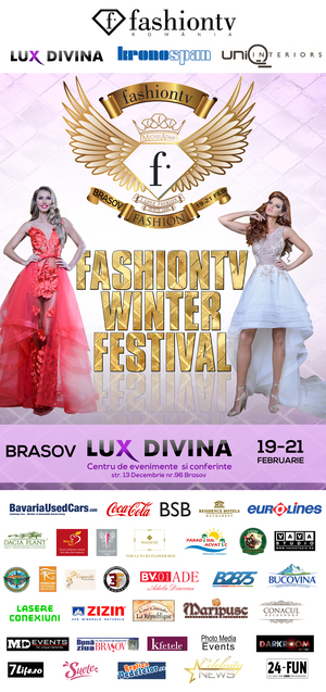 FashionTv Winter Festival 2016 pune Brasovul pe harta internationala a modei