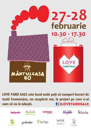 Recomandare Kfetele.ro: LOVE Yard Sale – 27 – 28 februarie