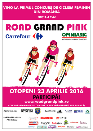 Road Grand PINK revine in Otopeni pe 23 aprilie 2016