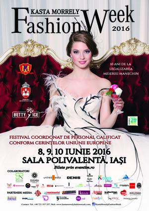 Eveniment aniversar Kasta Morrely Fashion Week 2016
