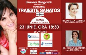 """Simona Dragomir: """"Fii un parinte informat si responsabil pentru viitorul copilului tau!"""""""