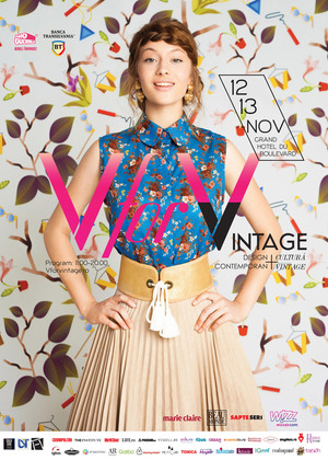 V FOR VINTAGE #17 - targ de design contemporan si cultura vintage