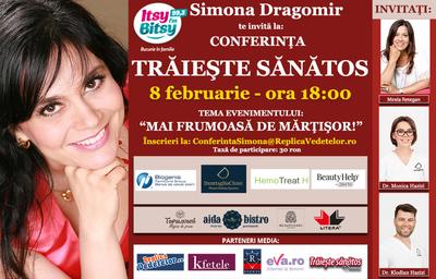 Simona Dragomir si Mirela Retegan te invata cum sa te simti frumoasa de Martisor!