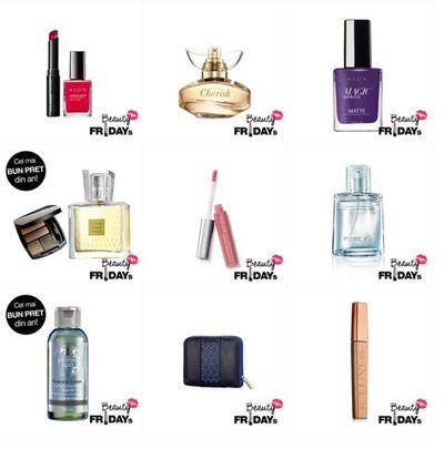 BLACK FRIDAY. Rasfata-te in fiecare zi! Cosmeticele tale preferate au reduceri de peste 50%!