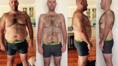 Barbatul asta a slabit 50 de kilograme consumand un aliment interzis!