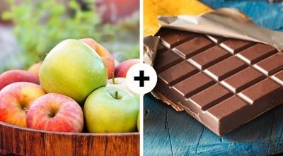 Foarte tare! De ce sa combini merele si ciocolata neagra!