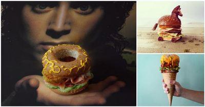 Acesti hamburgeri sunt adevarate opere de arta! Ai avea curaj sa ii mananci?