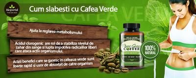 Cum slabesti cu Cafea Verde