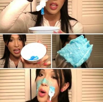VIDEO A amestecat sare cu pasta de dinti, apoi a aplicat pe fata! Dupa 5 minute a observat ceva socant