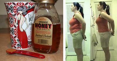 Fierbe acest amestec de miere si scortisoara si scapa imediat de burta!