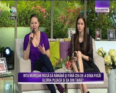 """Rita Muresan are o relatie cu speciala cu fiicele sale. Gloria: """"Eu si surorile mele suntem inconjurate de iubire si de bunatate"""""""