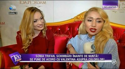 Sonia Trifan se pregateste de nunta! Primeste sfaturi de la Valentina Pelinel!