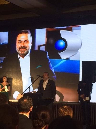 Haluk Kurcer, presedintele Kanal D, premiat la Gala News.ro pentru Leadership si Management performant